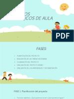 PROYECTOS PEDAGÓGICOS  DE AULA.pptx