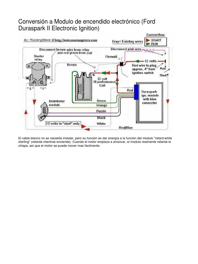 Duraspark 2 Distributor Wiring Diagram Electrical Diagrams 351 Cleveland Ford 302 Schematics Ii