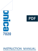 Konica 7020 Manual