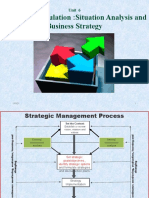 Chapter VI- Strategy formulation- situation analysis and business strategy - Copy