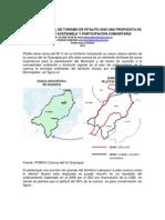 UNA PROPUESTA COMUNITARIA PARA EL DESARROLLO DEL TURISMO SOSTENIBLE
