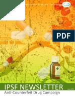 IPSF Newsletter #83 - Anti-Counterfeit Drug Campaign