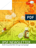 IPSF Newsletter #83 - Anti-Counterfeit Drug Campaign