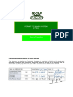 HSEO-CP-09 - Permit To Work System - PTWS