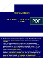 5. Classical normal linear regression model.ppt