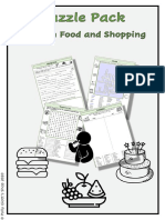 French Food and Shopping Studio 3 Vert Module 3 Puzzle Pack (2)