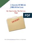 21 Secrets Fat Loss