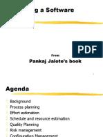5-ProjPlanning-Jalote