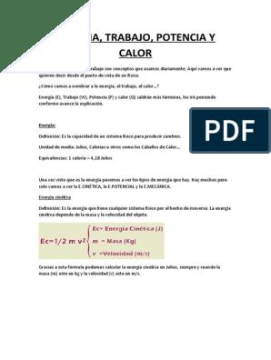 Trabajo calor pdf y