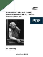 DOUCHET, Jean & François CAUNAC • Une autre histoire du cinéma (France Culture, 2007) • 10. Sternberg (+mp3)