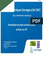 Journées techniques Ouvrages d Art 2013
