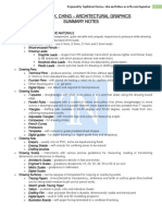 DK CHING SUMMARY NOTES - Architectural Graphics