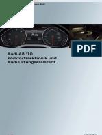 SSP 460_Komfortelektronik und Ortungsassistent