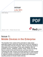 Top 10 IT Security Issues for 2011