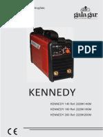 Manual + CE - Máquina Soldar - Kennedy 140 160 200 (PT)