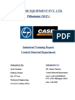 Summer Training at L&T-CASE Pithampur