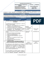 P-SST-02  IDENTIFICACIÓN DE PELIGROS, VALORACIÓN DE RIESGOS Y DETERMINACIÓN DE CONTROLES