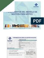 MP 41C-V2 FUNDAMENTOS MODELO DE GESTIÓN  PARA  MYPES