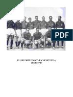 El Deporte Vasco en Venezuela desde  1945