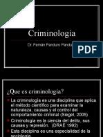 Criminologia semana III