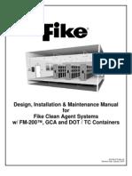 Design, installation Maintenance Manual-FM200-Fike