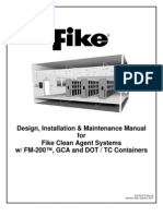 Design, installation Maintenance Manual-FM200-Fike