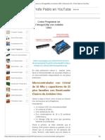 Como Programar un ATmega328p con Arduino UNO _ Electronica Pic - Profe Pablo en YouTube