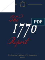 President Donald Trump's 1776 Commission - Final Report