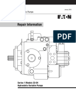 3. Service manual Variable Pump EATON