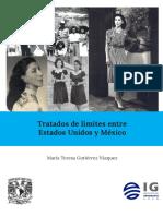 Maria Teresa Gutierrez Vazquez - Tratados de Limites Entre Estados Unidos y Mexico