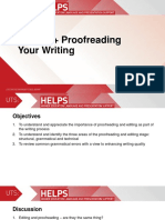 2. Proof Reading