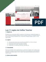 COFFE TEACHER