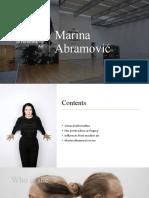 Marina Abramovic