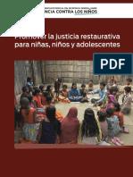 PROMOVER LA JUSTICIA RESTAURATIVA PARA NINAS NINOS Y ADLESCENTES.pdf