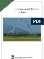 Critically endangered species brochure