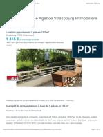 Location appartement 5pièces 103m², Strasbourg - 1415€