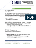 COTIZACIÓN PELIGROSOS 2020 -   FAMESCA S.R.L.