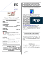 9-Lines Newsletter - February 17, 2011