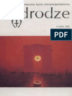 Bocheński J. M., Rady Starego Filozofa, ''W Drodze'' XX (9_229), 1992