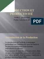Production et productivité