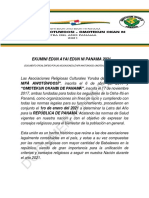 LETRA DEL AÑO 2021 Panama AWOTÚWOOSÍ OMOTEKUN OKANBI revisado OFICIAL