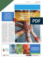 PEN2036 | Proyecto Educativo Nacional al 2036 busca impulsar la convivencia ciudadana