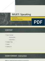 MUET notes