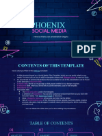 Phonix Social Media by Slidesgo