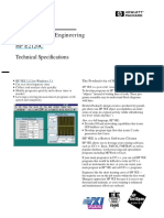 HP VEE 3.12 Technical Specifications. 1997