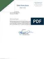 Harris letter