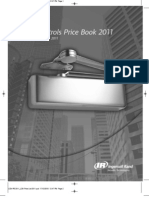 LCN Door Controls Price Book 2011