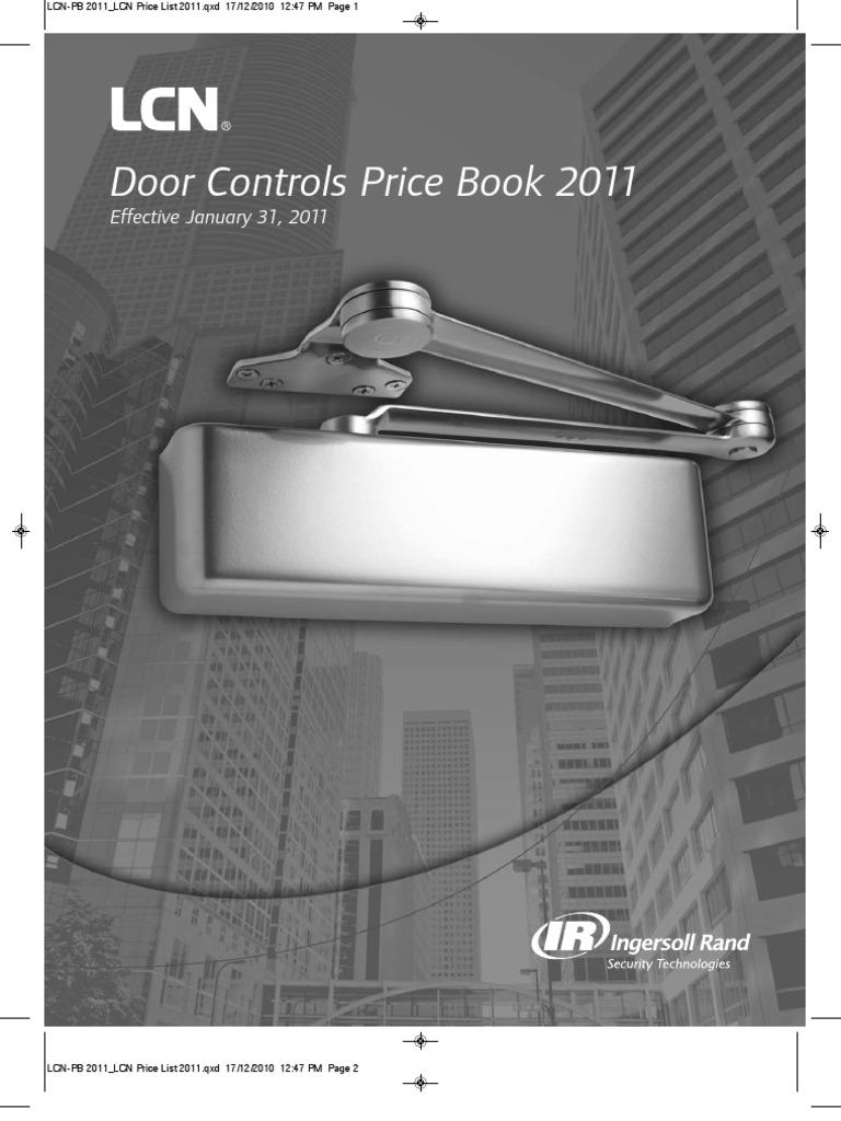 2x LCN SEM7840 Sentronic Electro magnetic Door Latch Holder Wall Mount fire safe