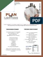 Plan de Lecture - Savoir Chrétien