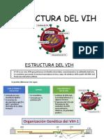 ESTRUCTURA DEL VIH